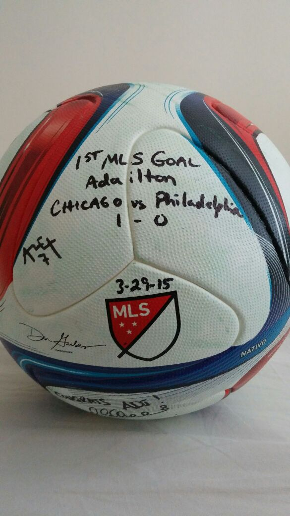 Adailton -_1st_Goal_Chicago_Game_Ball