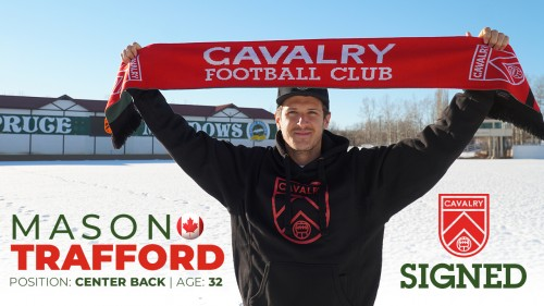 Signing: Trafford Joins The CPL w/Calvary FC